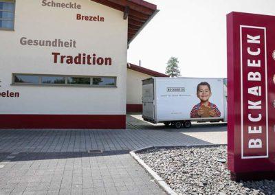 Bäckerei Neubau in Böhringen