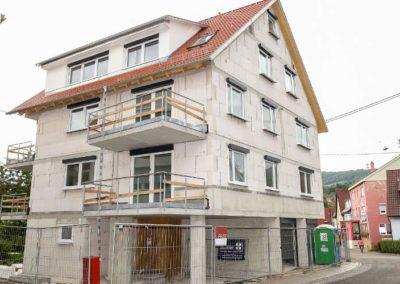 Rohbau Mehrfamilienhaus in Dettingen/ Erms
