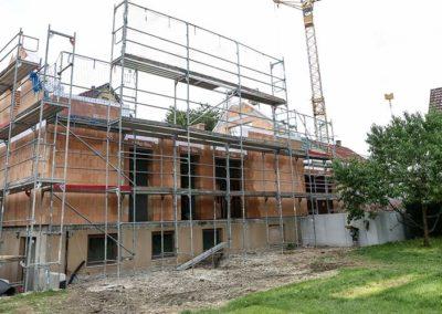 Rohbau Einfamilienhaus in Bad Urach