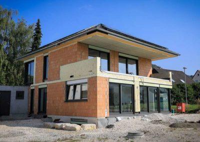 Rohbau Einfamilienhaus in Dettingen/ Erms